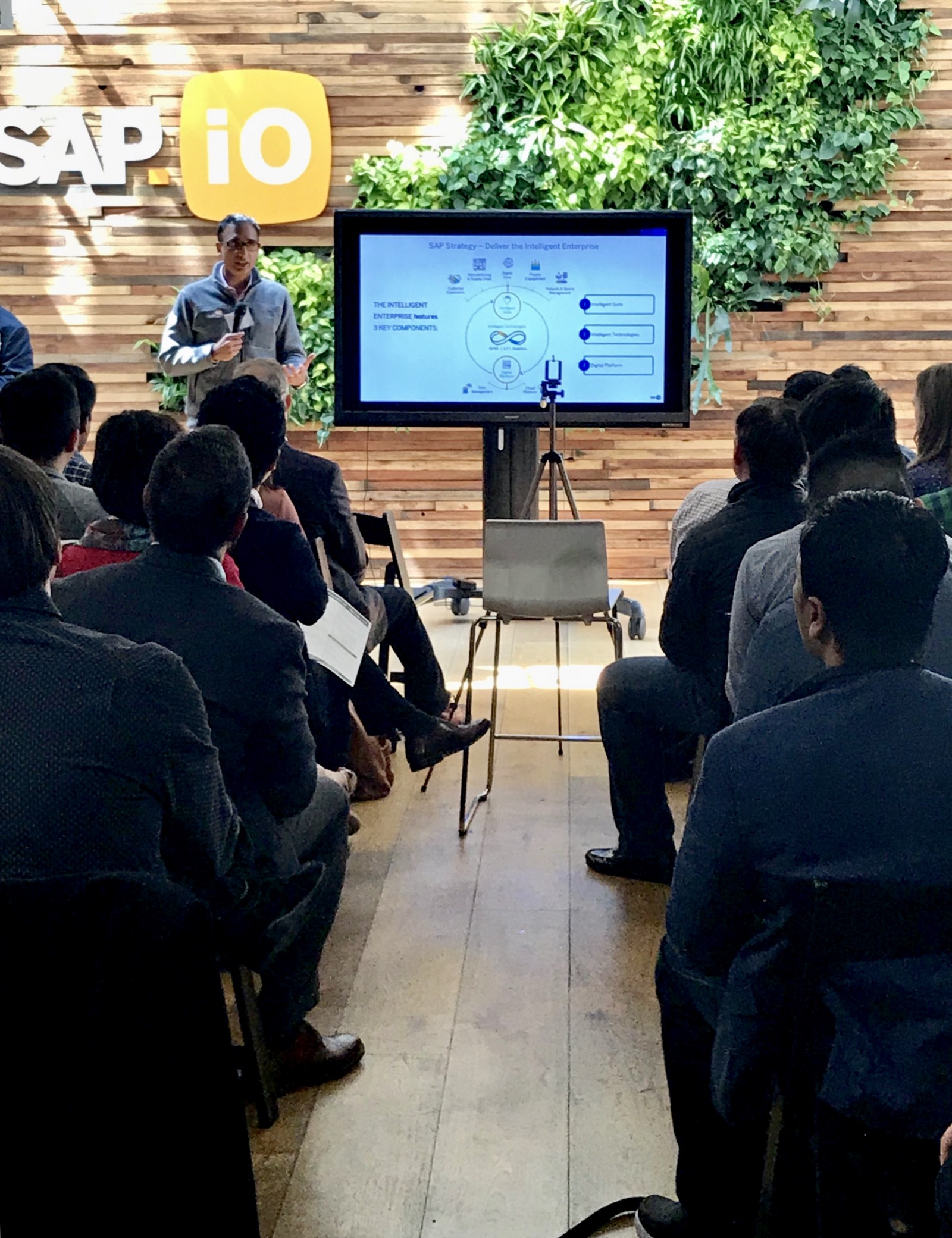 SAP.iO Foundry SF Demo Day Spring 2018 — Three Months of Building the Intelligent Enterprise