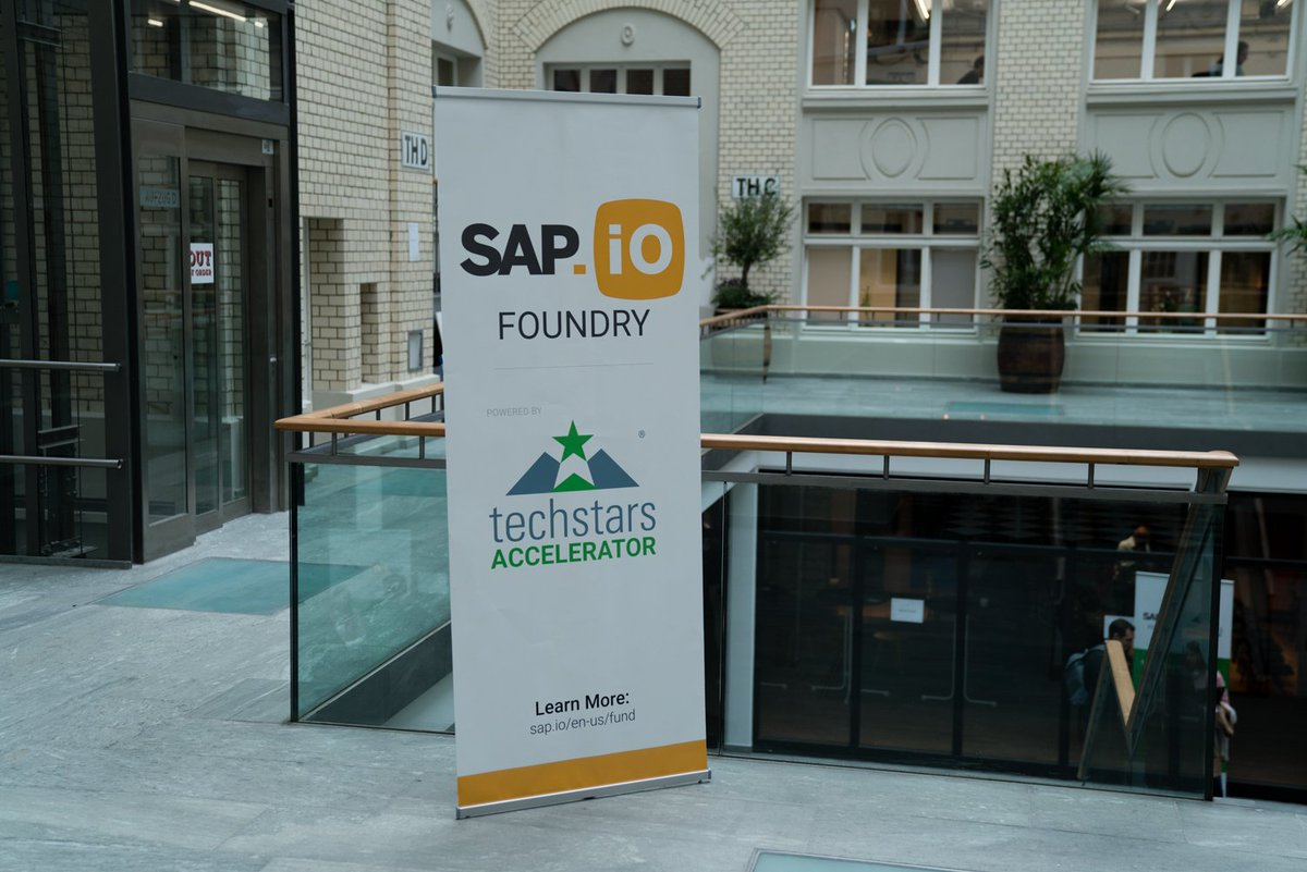 How the SAP.iO Foundry powered by Techstars helped us get our first customer in just 13 weeks