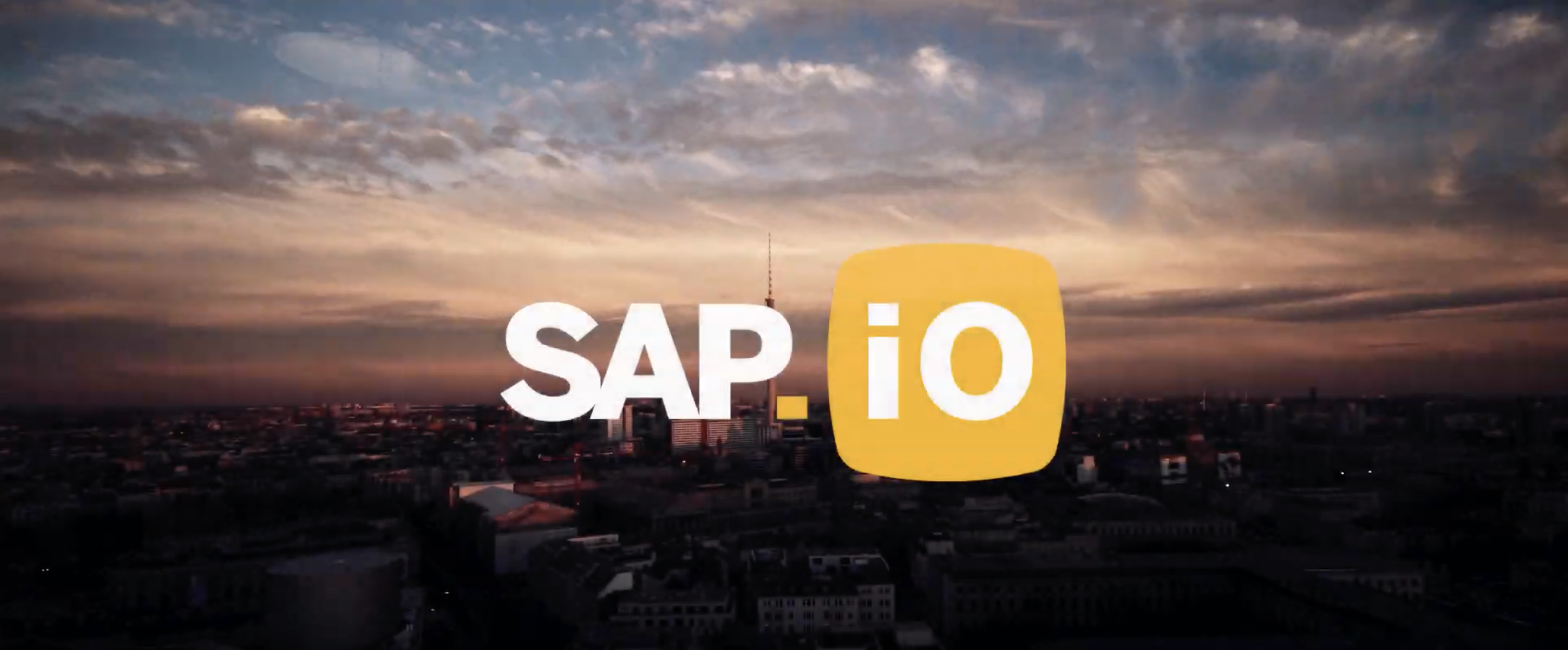 SAP.iO Overview Video