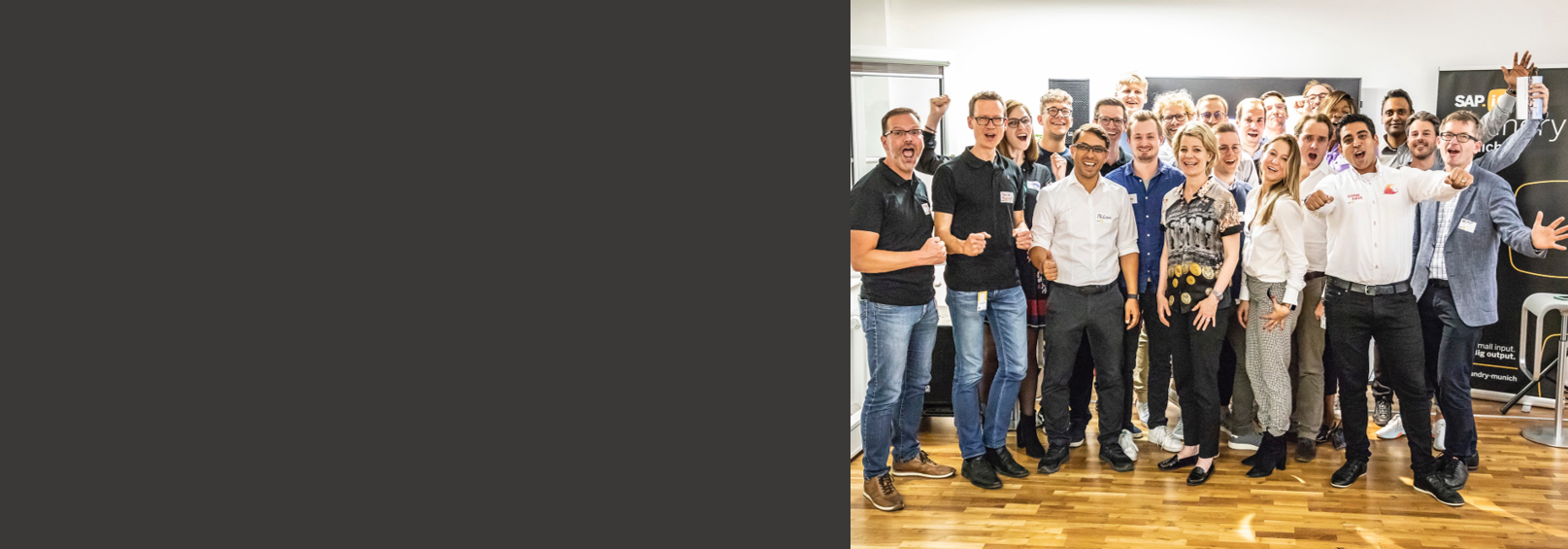 Forging the Future of Customer Experience: Introducing the first SAP.iO Foundry Munich Cohort