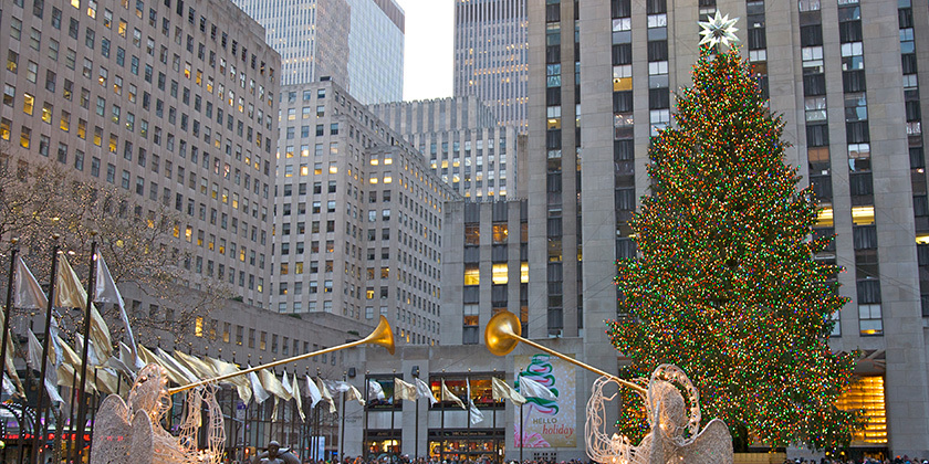 What the Rockefeller Center Tree Means for Last-Mile Deliveries